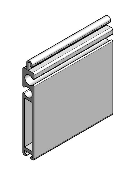 Aluminium Terminal profile VL-29556