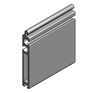 Aluminium Terminal profile VL-55607