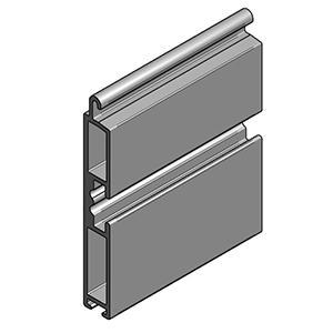 Aluminium Terminal profile VL-55604